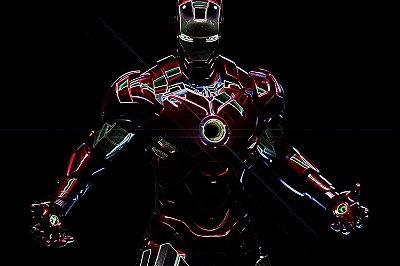 Quadro Homem de Ferro - Mark III 8