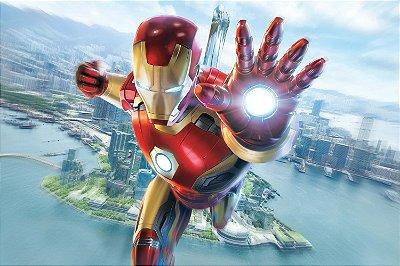 Quadro Homem de Ferro - Cidade