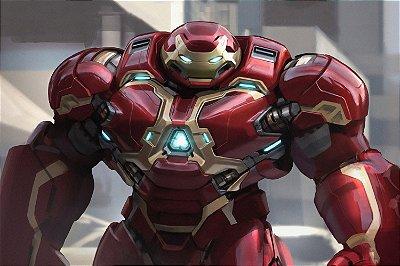 Quadro Homem de Ferro - Hulkbuster 2