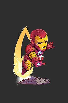 Quadro Homem de Ferro - Desenho