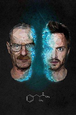 Quadro Breaking Bad - Walter e Jesse