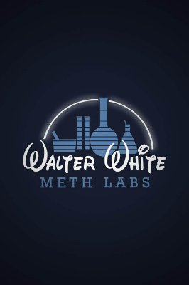Quadro Breaking Bad - Meth Labs