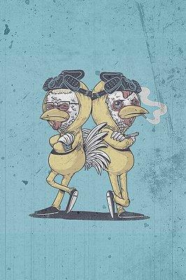 Quadro Breaking Bad - Los Pollos Hermanos