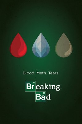 Quadro Breaking Bad - Minimalista 5