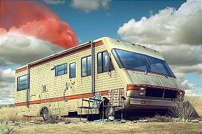 Quadro Breaking Bad - Drug Trailer 2