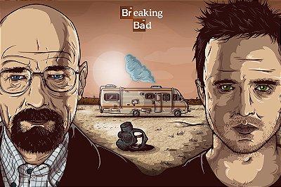 Quadro Breaking Bad - Walter e Jesse 2