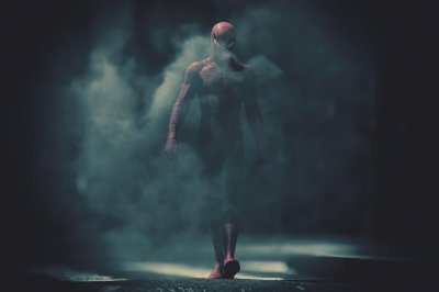 Quadro Homem Aranha - Noite