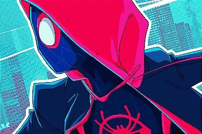 Quadro Homem Aranha - Aranhaverso Feminino