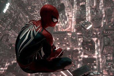 Quadro Homem Aranha - Cidade 2
