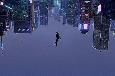 Quadro Homem Aranha - Cidade 3