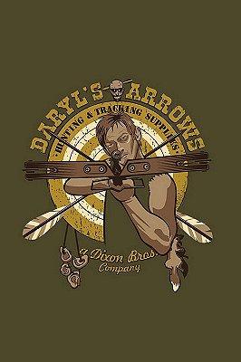 Quadro The Walking Dead - Daryl Dixon