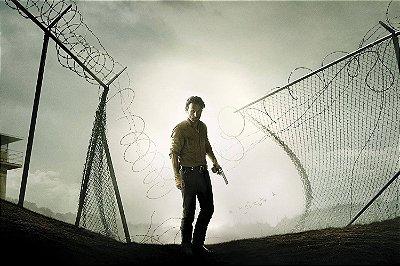 Quadro The Walking Dead - Rick Grimes Prisão