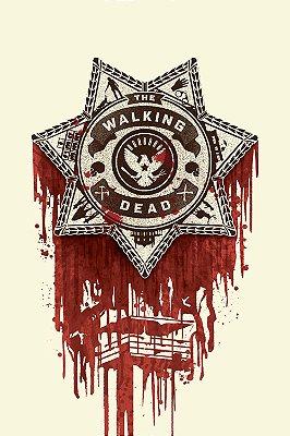 Quadro The Walking Dead - Distintivo