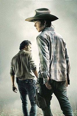 Quadro The Walking Dead - Rick e Carl Grimes