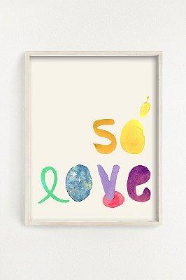 Poster Só Love