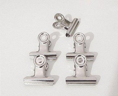 Clips prendedores de metal