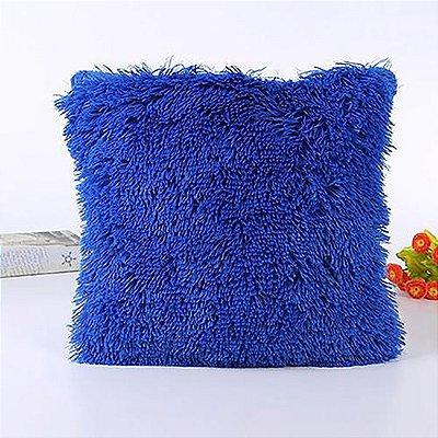 Almofada azul escuro