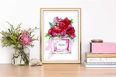 Quadro Perfume Floral