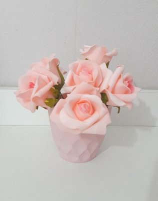 Flores Rosa Eva Rosa Claro