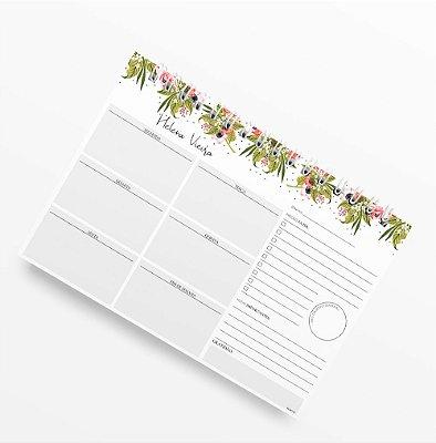 Planner Semanal Floristry II