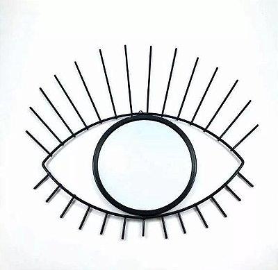 Espelho decorativo olho preto