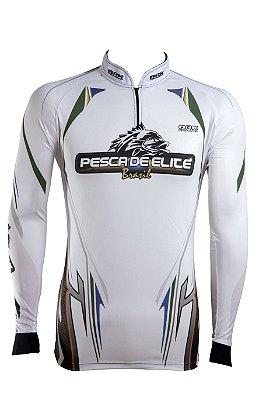 Camisa de Pesca Brk Pesca Elite Brasil com fpu 50+