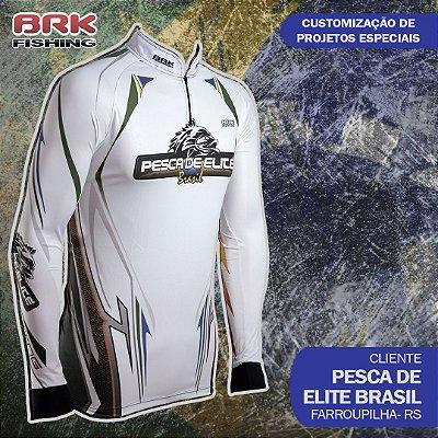 Camiseta Personalizada para Pesca de Elite Brasil