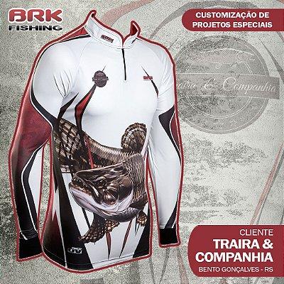 Camiseta Personalizada para Traira & Companhia
