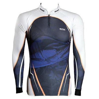 Camisa de Pesca Brk Marlim Sea com fpu 50+