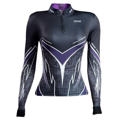Camisa de Pesca Feminina Purple Viper com fpu 50+