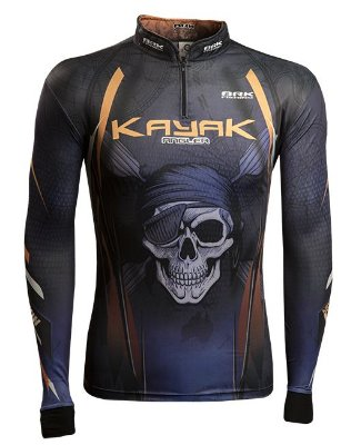 Camisa de Pesca Brk Kayak Angler com fpu 50+