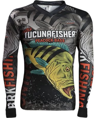 Camisa de Pesca Brk River Monster Tucuna Fisher 2.0 com fpu 50+