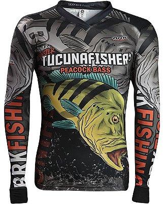 Camisa de Pesca Brk River Monster Tucuna Fisher 2.0 com fpu 50+