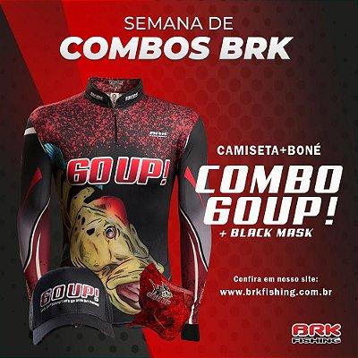 Combo 1 - Camiseta 60UP! + Boné + Black Mask