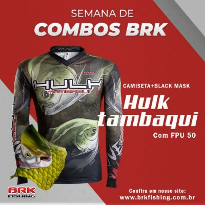 Combo 4 - Camiseta Robalo + Black Mask