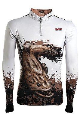 Camisa de Pesca Brk Combat Fish Traira 1.0 com fpu 50+