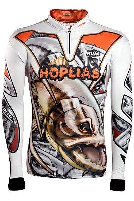 Camisa de Pesca Brk HOPLIAS com fps 50+