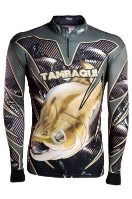 Camisa de Pesca Brk Tambaqui com fps 50+