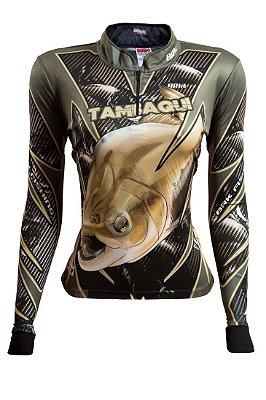 Camisa de Pesca Feminina Brk Tambaqui com fps 50+
