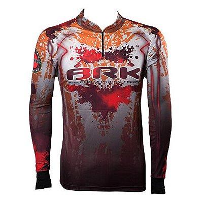 Camisa de Pesca Brk Black Poison com fpu 50+