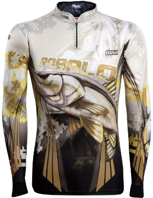 Camisa de Pesca Brk New Robalo 1.0 Fishing com fps 50+
