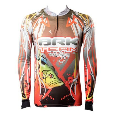 Camisa de Pesca Brk Team Fishing com fpu 50+