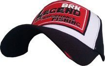 Boné de Pescaria Brk Legend Red Black