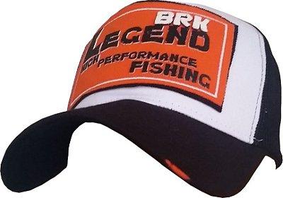 Boné de Pescaria Brk Legend Laranja