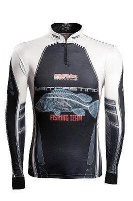 Camisa de Pesca Brk BaitCasting com fpu 50+