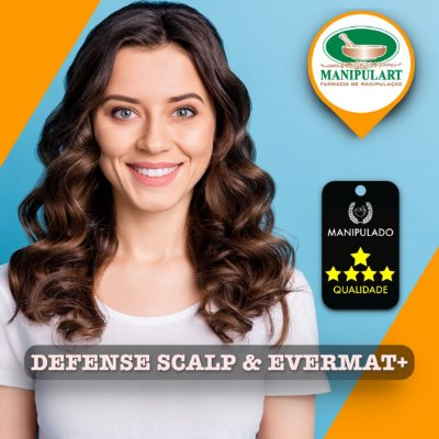 DEFENSE SCALP & EVERMAT+ | DERMATITE SEBORREICA