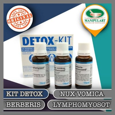 Kit Detox Berberis | Lymphomyosot | Nux vomica Heel