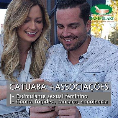 CATUABA +ASSOCIAÇÕES | Composto contra frigidez
