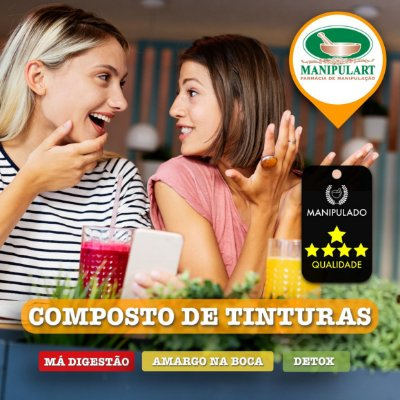 TINTURA DE BOLDO+ | COMBATE A MÁ DIGESTÃO