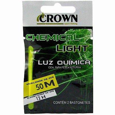 Luz Química Crown Chemical Light 4,5 X 39MM Verde C2